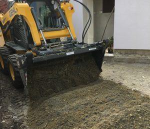 Térkövezés előkészítése - Fox-Bauker